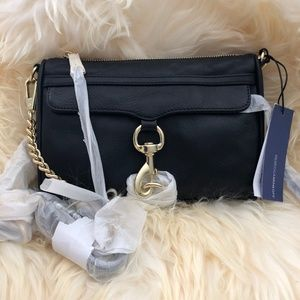 Rebecca Minkoff Black with gold
